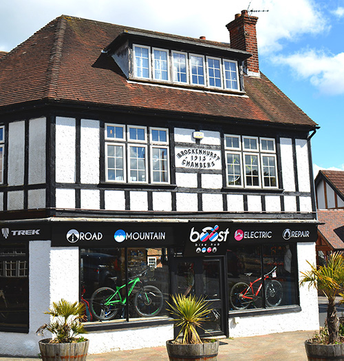 Boost Bike Shop external image at Island Shop, Brockenhurst