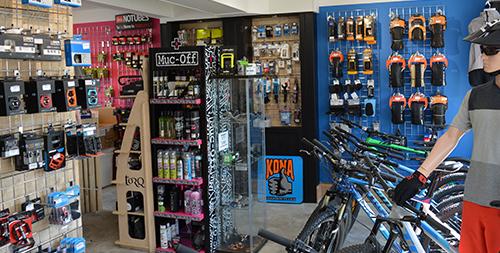 Boost Bike Hub shop internal image