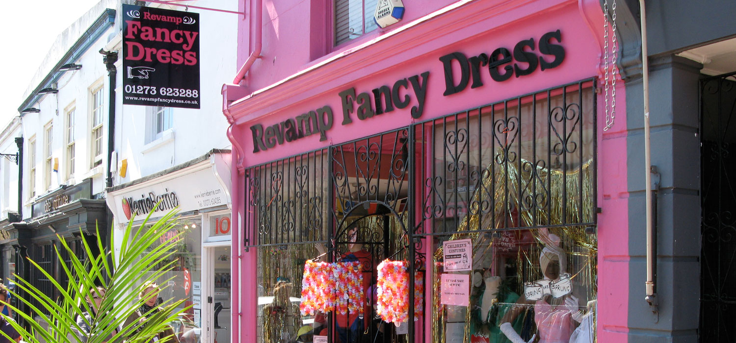 Revamp Fancy Dress, Brighton