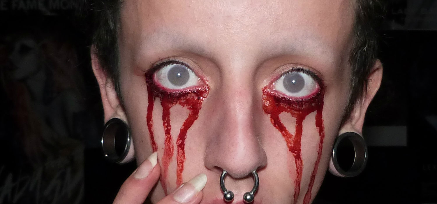 Buy Halloween contact lenses at Revamp Fancy Dress, Brighton
