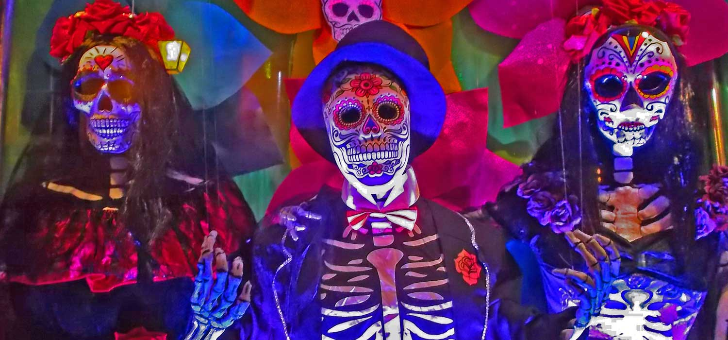 Buy Day of the Dead masks at Revamp Fancy Dress, Brighton