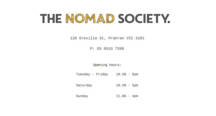 The Nomad Society