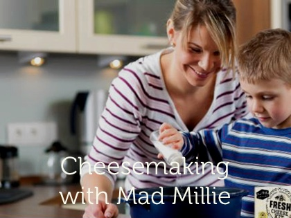 Teros Make Your Own Cheese Class with Mad Millie