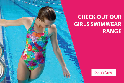 Shop Girls Swimwear Range