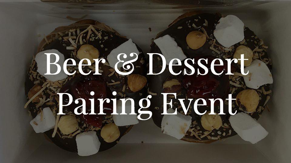 Beer & Dessert Pairing