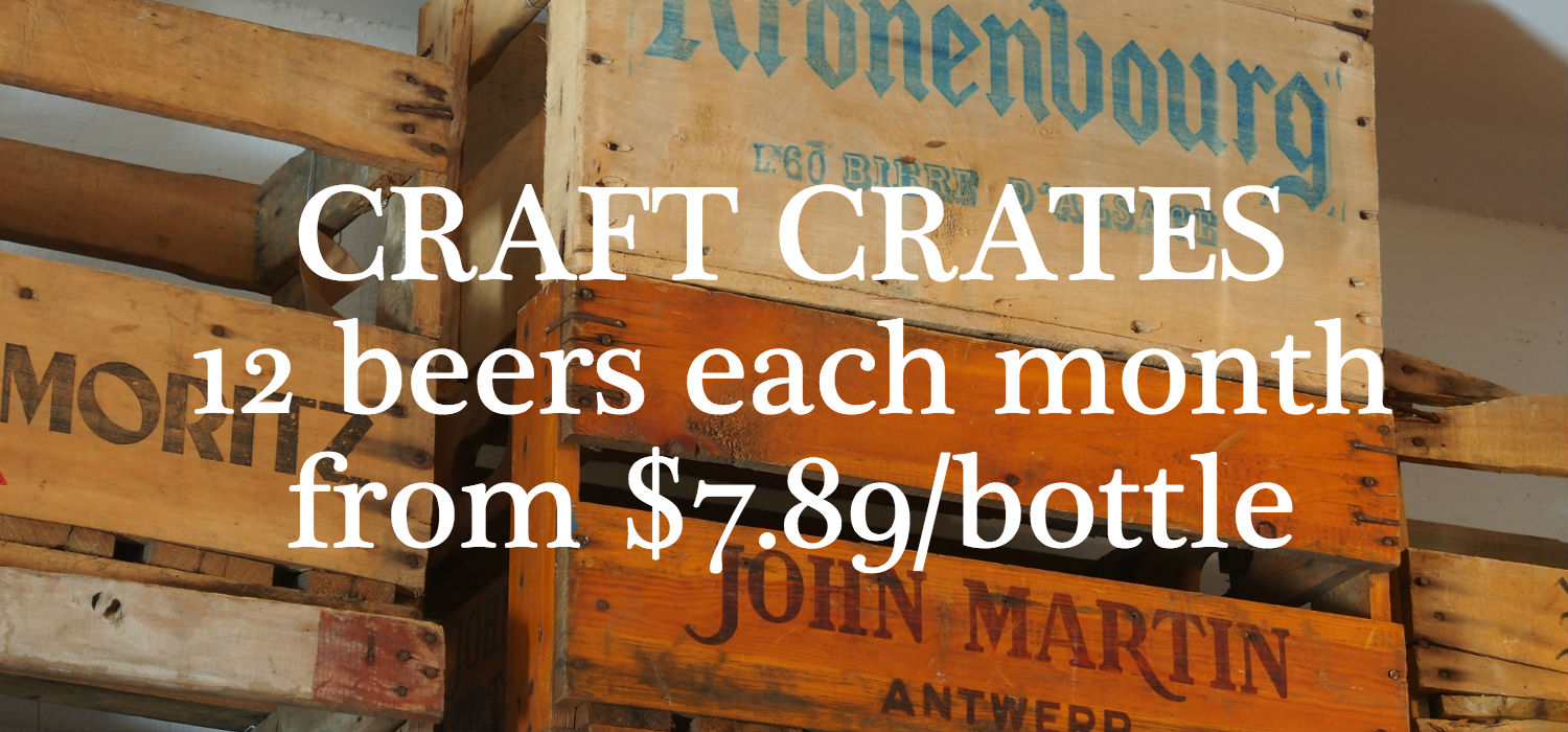 New Zealand Craft Beer Crate