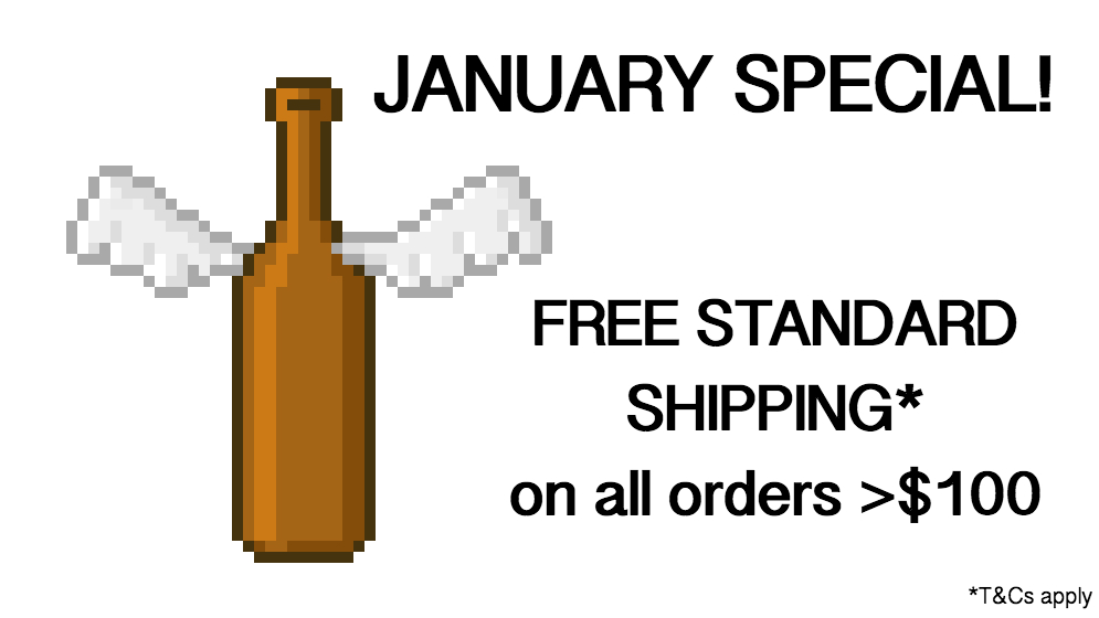 Free Beer January Shipping
