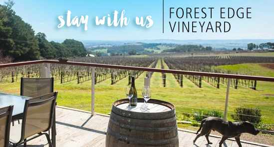 Stay at Forest Edge Vineyard