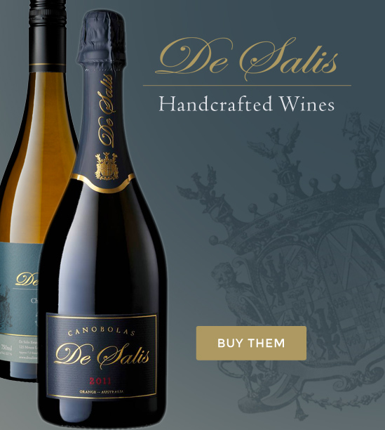 De Salis Wines - Handcrafted
