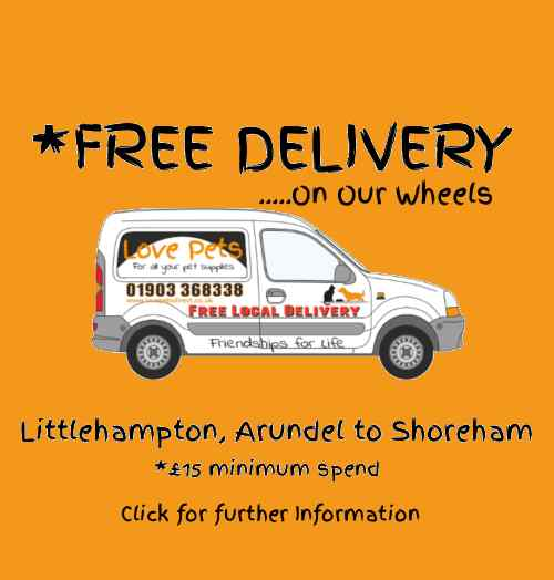 Free Delivery, Littlehampton, Arundel, Worthing