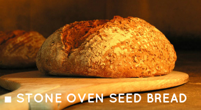 Stove Oven Seed Bread