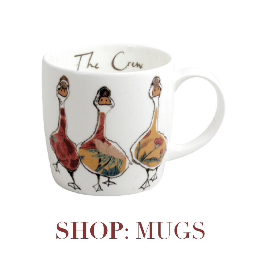 Mugs and crockery