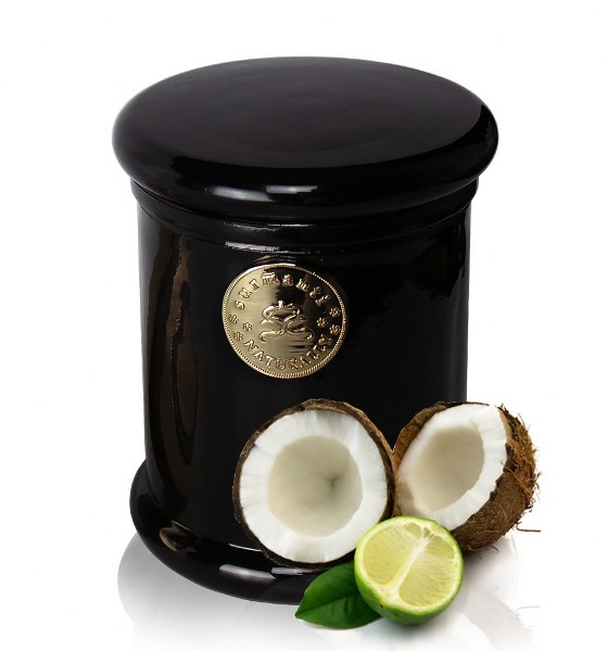 SURMANTI ECO SOYA CANDLE LIME & COCONUT