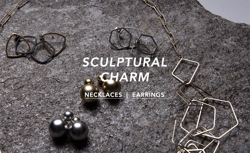 sculptural charm