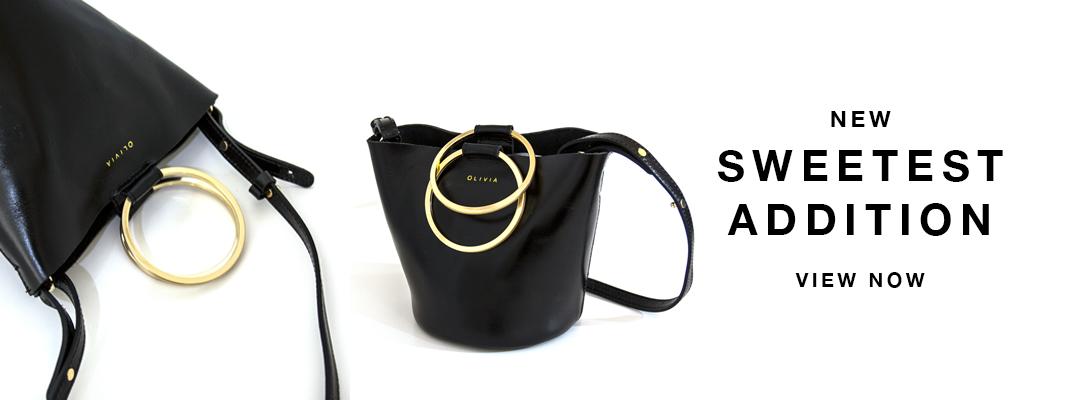 Hoop Handle Mini Sling Bag