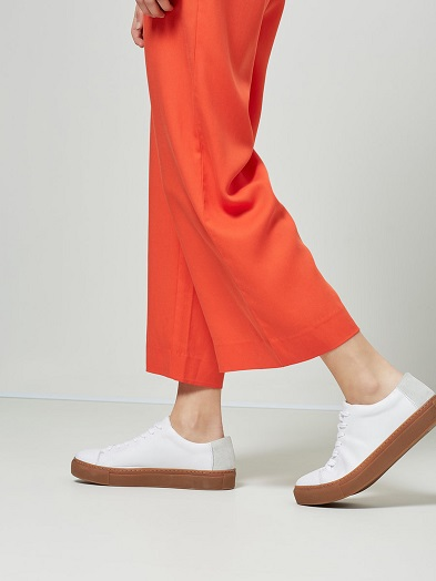 Mandarin Cropped Trousers