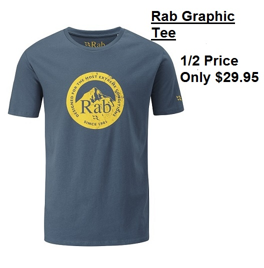 Rab Graphic Tee $29.95