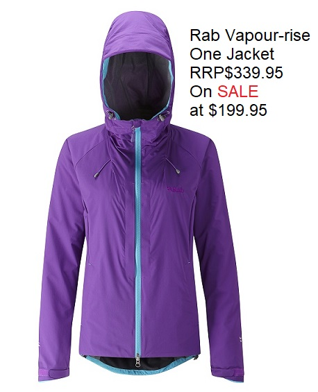 Rab Womens Vapour-rise One Jacket