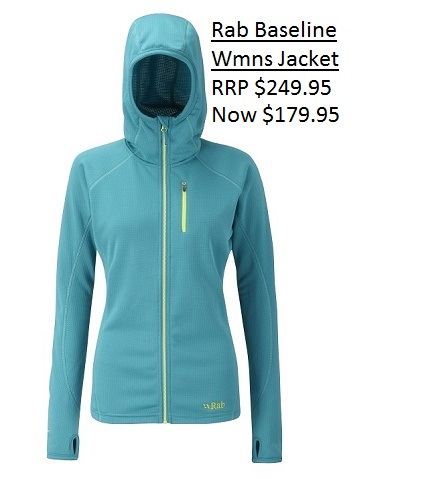 Rab Baseline Jacket Wmns $179.95