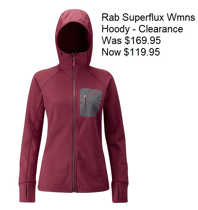 Rab Superflux Hoody