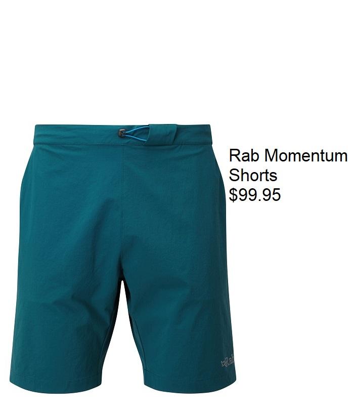 Rab Momentum Shorts